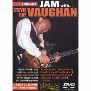 DVD Lick Library Jam with Stevie Ray Vaughan