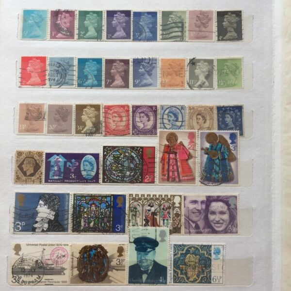 Collectible UK Stamps