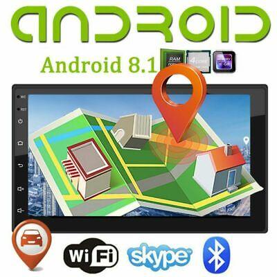 Wifi 5 Mp Gps (7 Zoll Android 8.1 AUTORADIO Mit GPS NAVI Bluetooth Doppel WIFI 2Din USB MP3 MP5)
