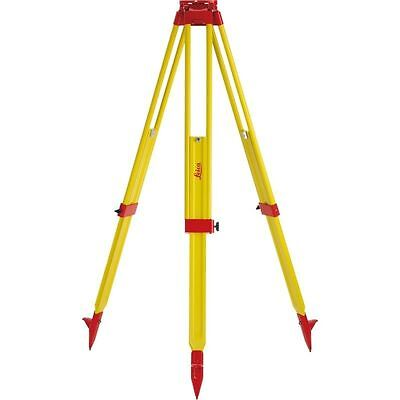 Leica Gst20-9 Wooden Tripod For Total Station Theodolite Level Laser T