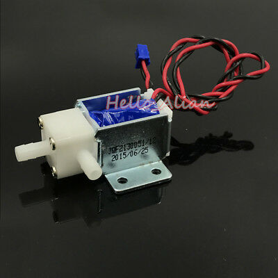 Dc 12v Micro Mini Electric Solenoid Valve No Normally Open Water Air Pump Valve