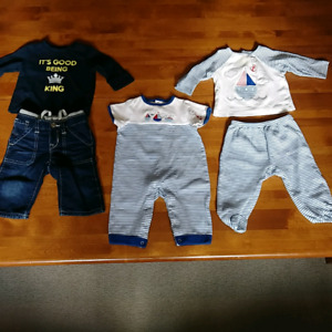 Boys lot of outfits 3-6 months