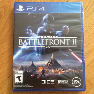 Star Wars Battlefront II PS4 (brand new, still sealed)