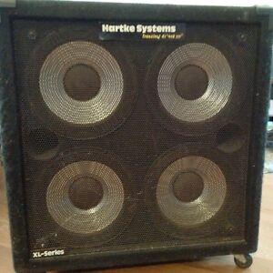 """Hartke Transient Attack 4x10"""" Bass Speaker"""