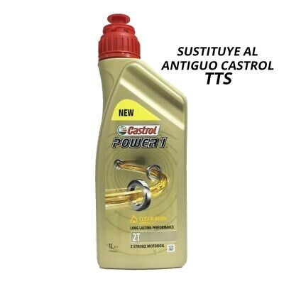 15B633 Aceite Castrol Power 1 Racing 2T 1litro ( TTS ) Scooter