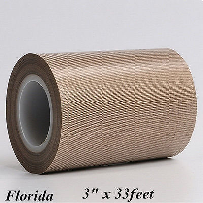 3 Teflon Adhesive Tape 500 33feet 0.13mm Thickening Ptfe Nonstick From Us