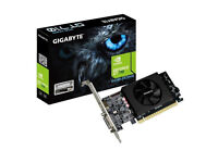 Gigabyte NVIDIA GT 710 2GB Low Profile Graphics Card pci express BARGAIN