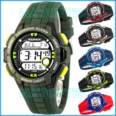 - Digital XONIX Watch - Men's and Boys', 15x Lap Memory, 3x Interval Timer, Wor...