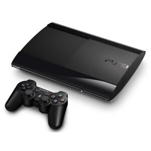 ps3 ultra slim 320gb 2 controllers