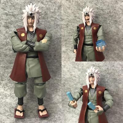 1Pcs 16CM Naruto SHF Jiraiya Anime Action Figure Model In PVC toys new