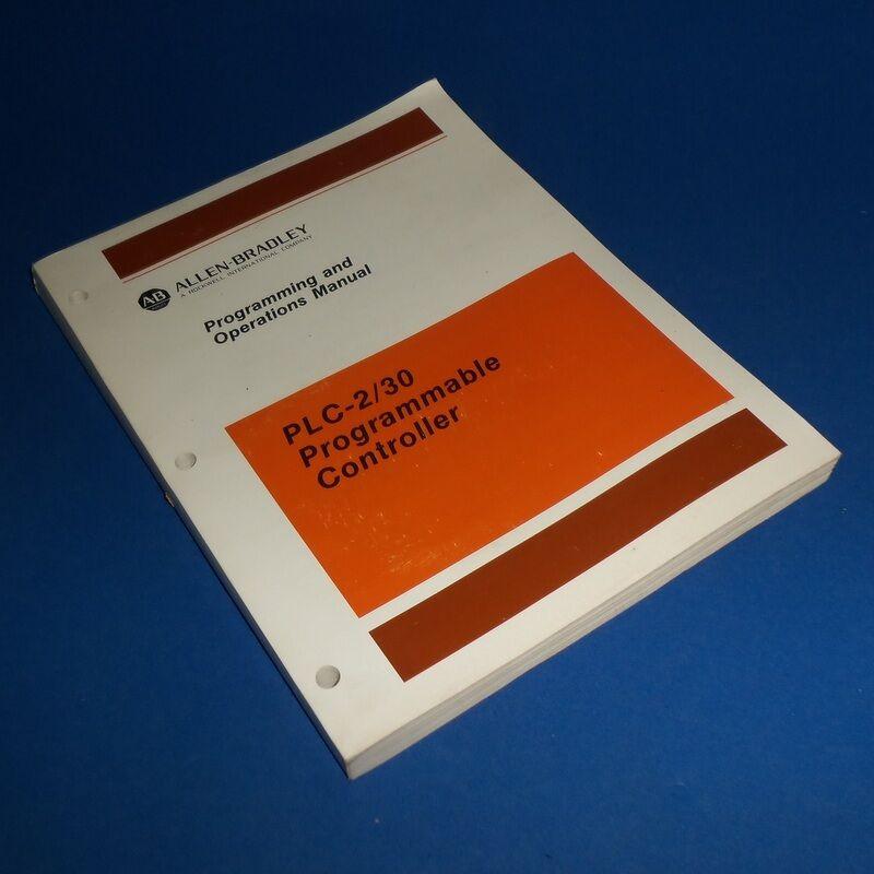 ALLEN BRADLEY PLC-2/30 PROGRAMMABLE CONTROLLER UNSER MANUAL 955102-22