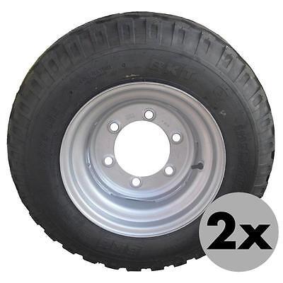 2x SCHLAUCH 12.5//80-15.3 GV Gummiventil für Lader Anhänger 12.5-15.3 2 Schläuche