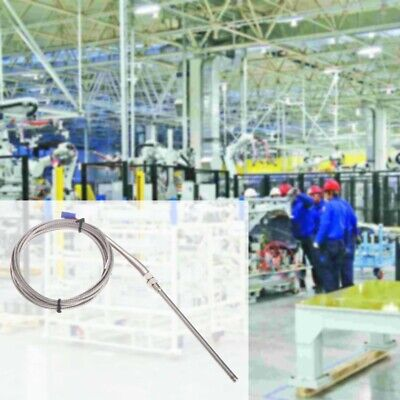 3m10ft High Temperature K Type 100mm Probe Sensor Stainless Steel Thermocouple