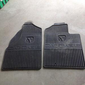 Dodge truck floor mats.