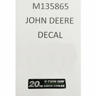 John Deere M135865 Grille Decal - 345 Gx345