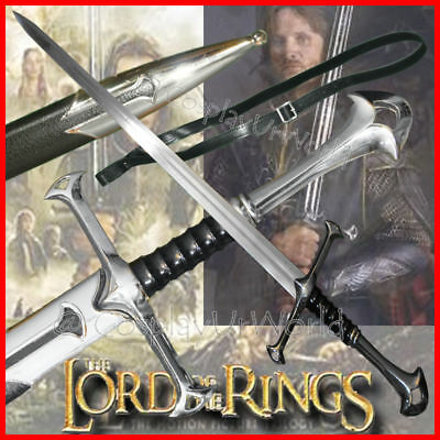 LOTR Lord of the Rings Anduril Aragorn Medieval Crusader Chivalry Knight's Sword