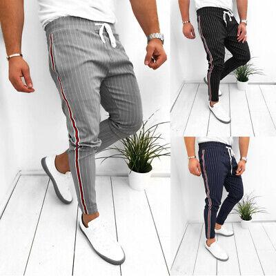 Slim Stripe Pant (Men Casual pants Slim fit trouser Stripe pant sports pant Loose pant Jogger Pant )