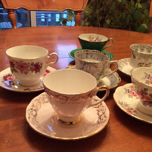 Royal Albert, Paragon, Queen Anne, Made in England Cup & Saucers London Ontario image 2