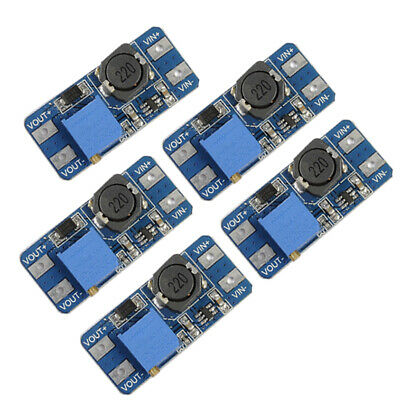 5pcs Mt3608 Dc-dc 2a Step Up Boost Power Supply Adjustable Converter Module C