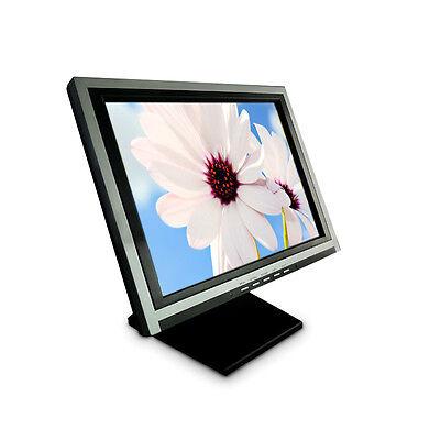 15 Zoll USB Touchscreen Monitor TFT-Touchscreen LCD mit USB /Windows 7/8 mit Fuß