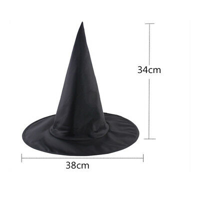 Cute Magician Costume (Cute Witch Wizard Hat Costume Unisex Accessory Adult Halloween Party Hat)