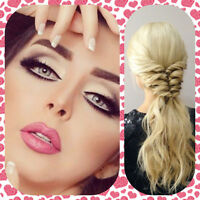Certified professional hair and makeup artist BEST PRICE
