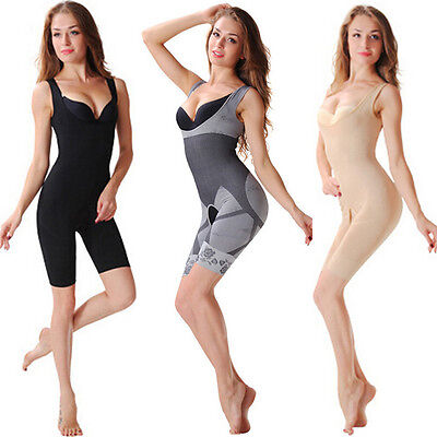 Nice Women Lingerie Body Shaper Bra Full Bodysuit Briefer Shapewear Panties - Panty Body Briefer