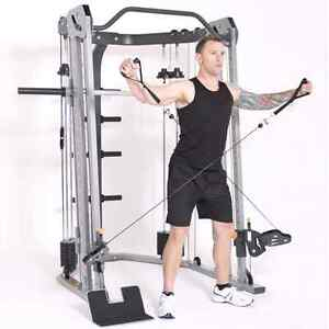 Paragon Functional Trainer and Smith Machine Commercial Grade Harrington Park Camden Area Preview