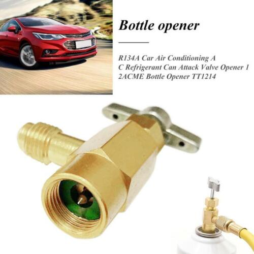 R134a Can Canister Opener Tap Tapper M14//1//4 inch SAE Car Auto Air Conditio