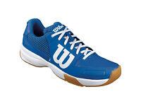 Wilson Storm Unisex Indoor Shoes (Blue/White) RRP £50