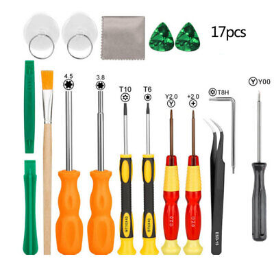 17pcs Screwdriver Repair Tool Kit for Nintendo Switch New 3DS and Wii/NES/ AHQ