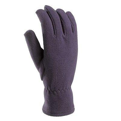 Unisex Fleece Handschuhe Gr. M/L violett outdoor