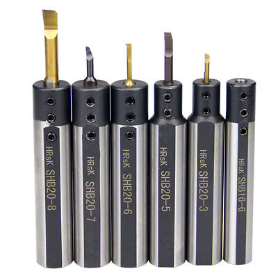 Shb 16 20 25 Small Bore Inner Hole Turning Tool Holder Carbide Boring Bar