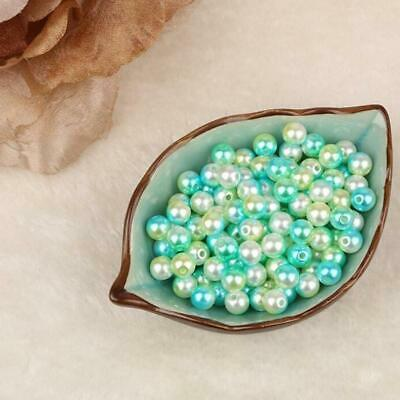 Faux Pearl Beads Bulk (Bulk Fresh Water Faux Pearl Round Loose Spacer Beads Jewelry Making Craft)