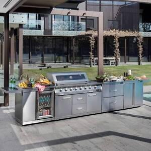 GASMATE PROFESSIONAL PLATINUM 6 BURNER BBQ KITCHEN PLUS Mount Waverley Monash Area Preview
