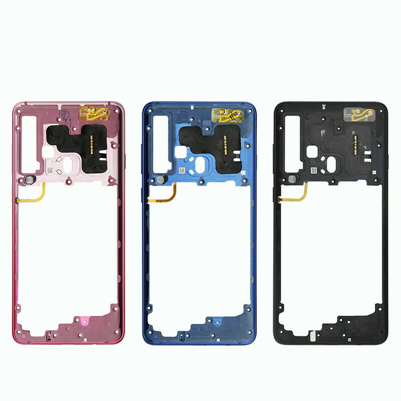 Housing Silver for Samsung Galaxy J3 Mid Frame with Glue Card
