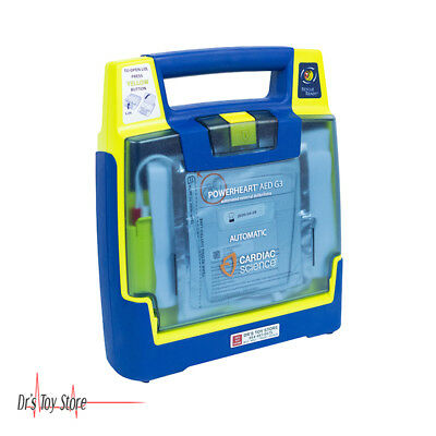 Cardiac Science Powerheart G3 Aed Automatic With Battery And Pad