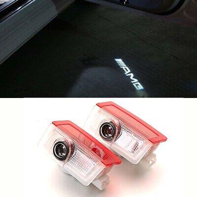 2x Led AMG Logo Projektor Türlicht für Mercedes W205 W212 W213 S205 S212 S213