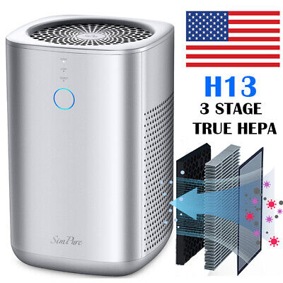 Large Room Air Purifier Cleaner HEPA Filter Remove Odor Dust Mold -Ultra Quiet