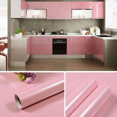 Self Adhesive Liner Cover Wall Sticker Furniture Cupboard Door Drawer Paper hot