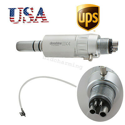 Us-dental Slow Low Speed Handpiece E-type Air Motor 4h 4 Hole Connection Fit Nsk
