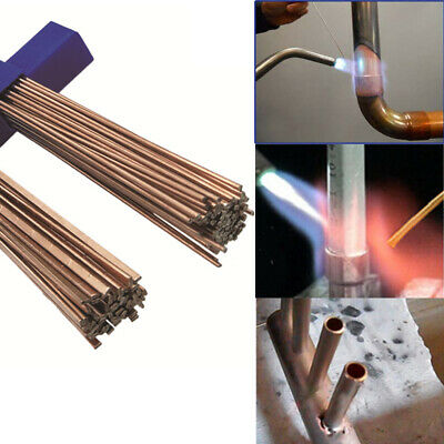 51020pcs Low Temp Aluminum Alloy Silver Welding Brazing Solder Rod For Repair