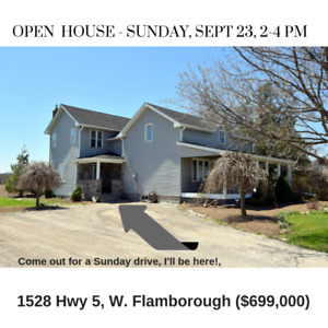 Open House - 1528 Hwy 5 W Flamborough
