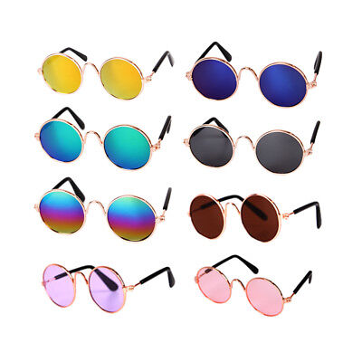 US Small Cat Dog Sunglasses Glasses Costume Pet Toy Kitten Outfit Clothes (Sunglasses Dog Toy)