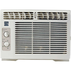 Kenmore 5000 BTU Compact Window Air Conditioner, 150 Sq Ft Home AC Unit w/ Mount