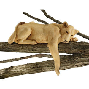 Design Toscano Lioness of Namibia Garden Wall Animal Statue, 73.