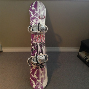 Womens snowboard package