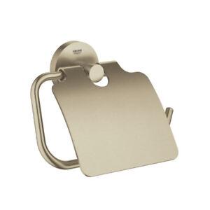 Grohe 40367EN1 Essentials Toilet Paper Holder Brushed Nickel