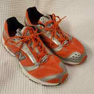 Orange New Balance Running Shoes in a size 11.5