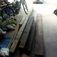 Pressure Treated Wood Lot (various size and lengths)